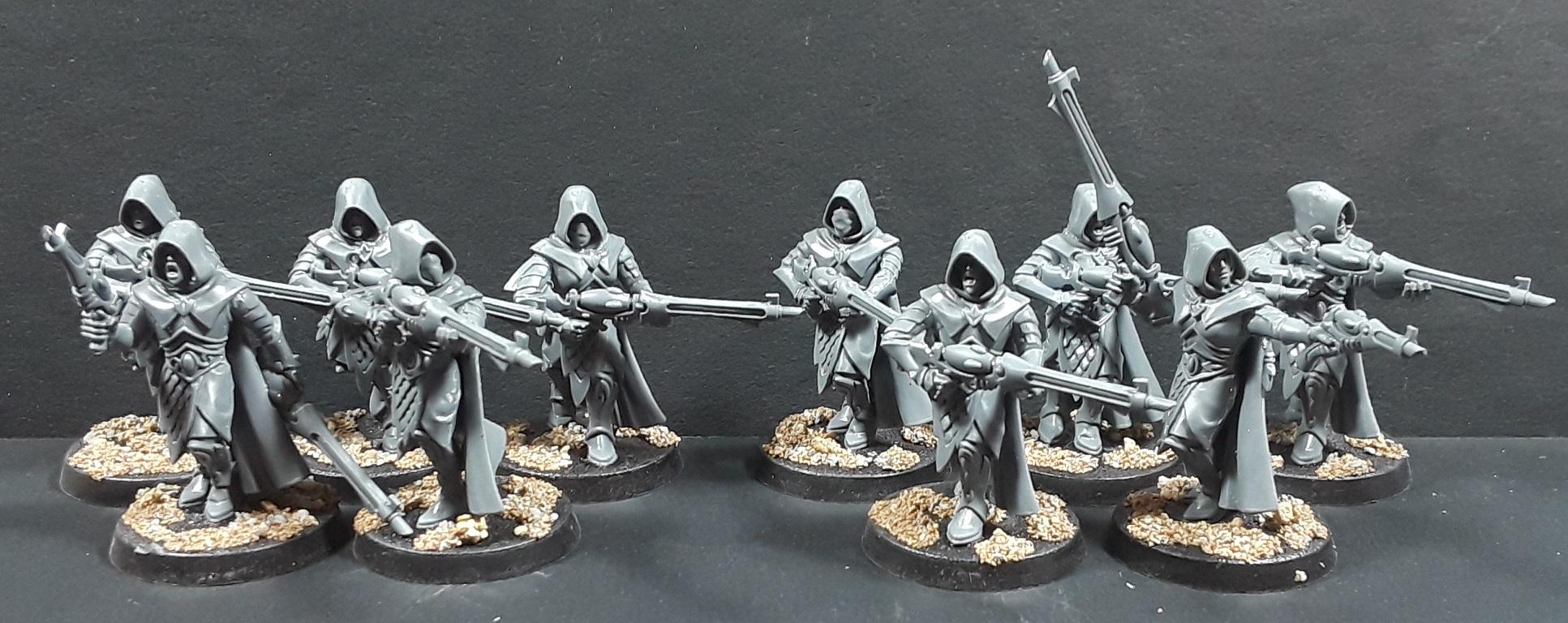 Mordian 7th Regiment: 40k Exodite Eldar - Rangers and
