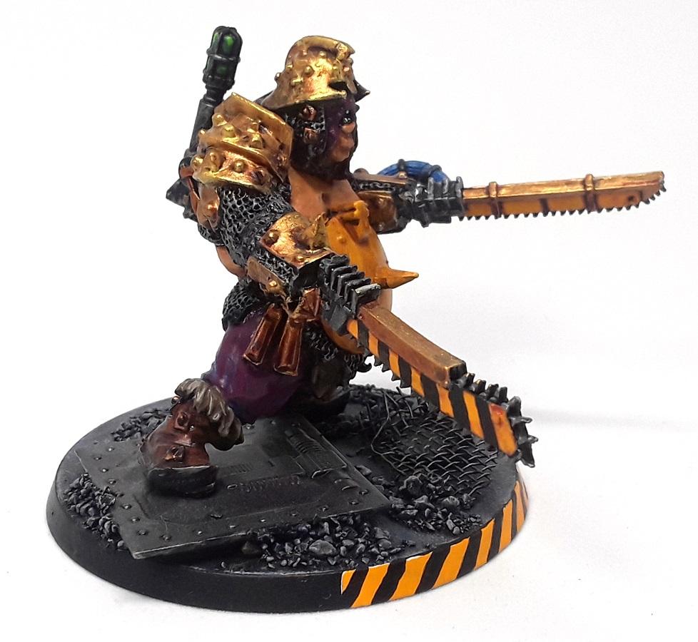 Mordian 7th Regiment: Necromunda - Pit Slaves and Bull Gorg